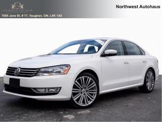 Used 2015 Volkswagen Passat Comfortline   leather sunroof off lease for sale in Concord, ON