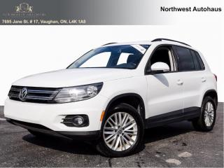 Used 2016 Volkswagen Tiguan SPECIAL EDITION OFF LEASE PANORAMIC SUNROOF 5 TO C for sale in Concord, ON
