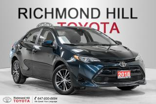 Used 2018 Toyota Corolla LE CVT for sale in Richmond Hill, ON