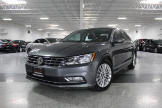 Used 2016 Volkswagen Passat TSI I NO ACCIDENTS I LEATHER I SUNROOF I REAR CAM I H. SEATS for sale in Mississauga, ON
