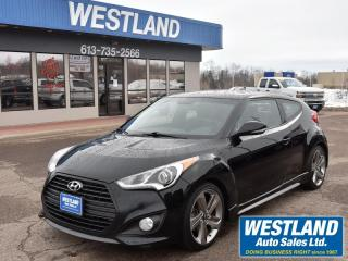 Used 2015 Hyundai Veloster Turbo for sale in Pembroke, ON
