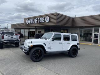 Used 2019 Jeep Wrangler Unlimited Sahara for sale in Langley, BC