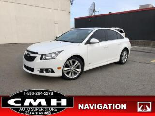 Used 2014 Chevrolet Cruze 2LT  RS 4DR NAVIGATION SUNROOF CAM for sale in St. Catharines, ON