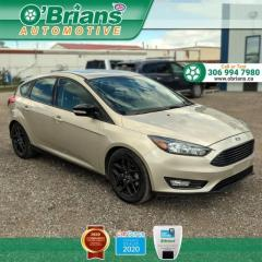Used 2017 Ford Focus SEL - Accident Free! w/Navigation, Heated Seats and Steering Wheel, Backup Camera for sale in Saskatoon, SK