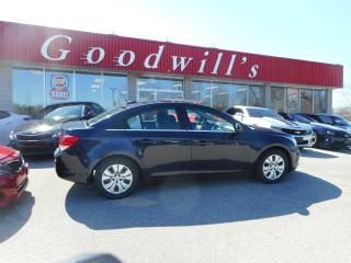 Used 2016 Chevrolet Cruze LT! REMOTE START! BLUETOOTH! SUNROOF! for sale in Aylmer, ON