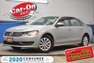 Used 2012 Volkswagen Passat 89,000 KM AUTO A/C CRUISE BLUETOOTH ALLOYS for sale in Ottawa, ON