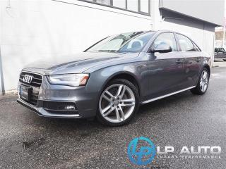 Used 2015 Audi A4 2.0T Technik for sale in Richmond, BC