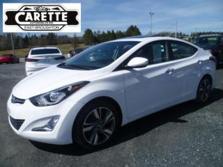 Used 2016 Hyundai Elantra Limited cuir-gps-toit for sale in East broughton, QC