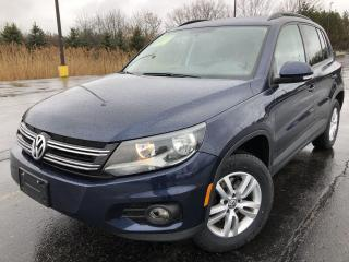 Used 2015 VW TIGUAN S 2WD for sale in Cayuga, ON