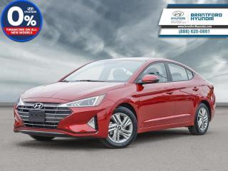 New 2020 Hyundai Elantra Preferred w/Sun & Safety Package IVT  - $146 B/W for sale in Brantford, ON
