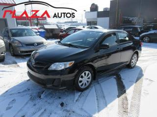 Used 2013 Toyota Corolla 4dr Sdn Auto CE, SIEGES CHAUFFANTS for sale in Beauport, QC