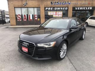 Used 2014 Audi A6 4dr Sdn quattro 3.0T Technik-CLEAN CARFAX-NAVI for sale in North York, ON