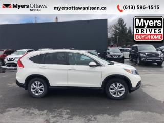 Used 2014 Honda CR-V EX  - Sunroof -  Bluetooth - $105 B/W for sale in Ottawa, ON