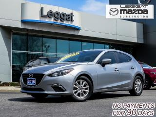 Used 2016 Mazda MAZDA3 GS- 6SPEED MANUAL, BLUETOOTH, HEATED SEATS, ALLOY WHEELS for sale in Burlington, ON
