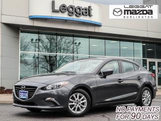 Used 2016 Mazda MAZDA3 GS - BLUETOOTH, MOONROOF, HEATED SEATS, REAR CAMERA for sale in Burlington, ON