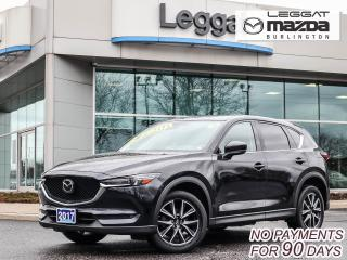 Used 2017 Mazda CX-5 GT- AWD, LEATHER, MOONROOF, BOSE, BLUETOOTH, REAR CAMERA for sale in Burlington, ON