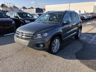Used 2017 Volkswagen Tiguan COMFORTLINE AWD *CUIR*TOIT*GPS*FENDER* for sale in Brossard, QC