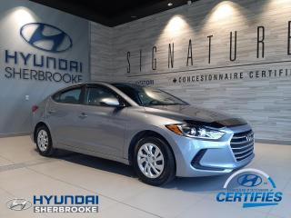 Used 2017 Hyundai Elantra LE+A/C+BANCS CHAUFFANTS+BLUETOOTH for sale in Sherbrooke, QC