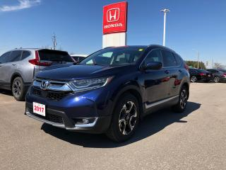 Used 2017 Honda CR-V Touring PANORAMIC MOONROOF | HEATED SEATS | HONDA SENSING TECHNOLOGIES for sale in Cambridge, ON