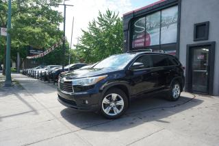 Used 2015 Toyota Highlander LIMITED  for sale in Laval, QC
