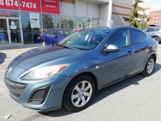 Used 2010 Mazda MAZDA3 GX * AIR CLIMATISÉ GROUPE ÉLECTRIQUE * for sale in Longueuil, QC
