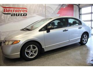 Used 2007 Honda Civic DX-G for sale in Lévis, QC