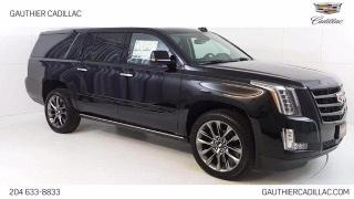 New 2020 Cadillac Escalade ESV Premium Luxury for sale in Winnipeg, MB