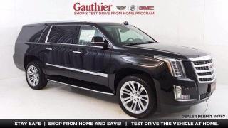New 2020 Cadillac Escalade ESV Premium Luxury for sale in Winnipeg, MB