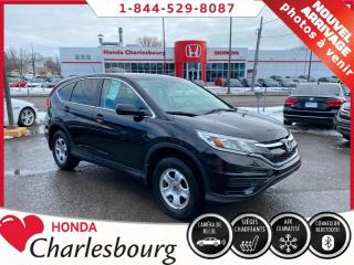 Used 2016 Honda CR-V LX **48 854 KM**UN PROPRIÉTAIRE** for sale in Charlesbourg, QC
