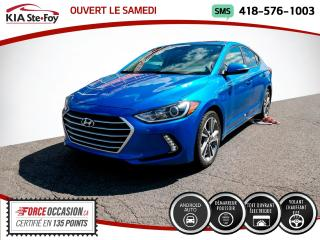 Used 2017 Hyundai Elantra * GLS* TOIT OUVRANT* SIEGES CHAUFFANTS * for sale in Québec, QC