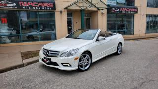 Used 2011 Mercedes-Benz E-Class E 550 Cabriolet **AMG PKG**NAVI**BACKUP CAM** for sale in North York, ON
