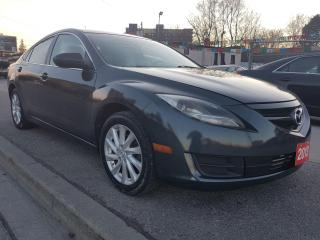 Used 2013 Mazda MAZDA6 GS-EXTRA CLEAN-4CYL-BLUETOOTH-AUX-ALLOYS-GAS SAVER for sale in Scarborough, ON