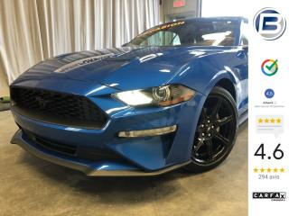 Used 2019 Ford Mustang EcoBoost convertible haut niveau for sale in St-Hyacinthe, QC