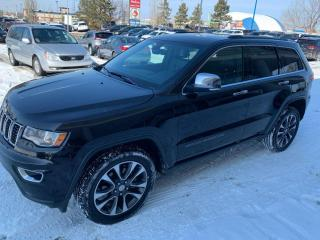 Used 2018 Jeep Grand Cherokee 3 MNTHS NO PYMNTS Limited 4WD Sport Utility LEATHER NAVIGATION SUNROOF for sale in Edmonton, AB