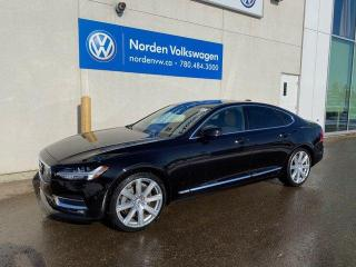 Used 2017 Volvo S90 T6 INSCRIPTION PKG - NAVI / LEATHER - LOADED for sale in Edmonton, AB