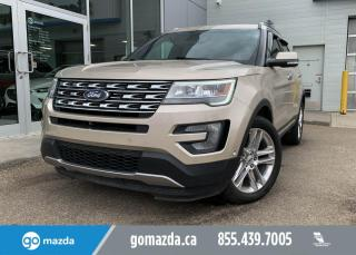 Used 2017 Ford Explorer LIMTIED- AWD, LEATHER, NAV, SUNROOF, GREAT FAMILY VEHICLE for sale in Edmonton, AB