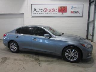 Used 2014 Infiniti Q50 AWD**CUIR**TOIT**NAVI for sale in Mirabel, QC