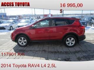 Used 2014 Toyota RAV4 AWD XLE for sale in Rouyn-Noranda, QC
