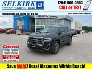 New 2020 GMC Acadia AT4  - Sunroof - Navigation for sale in Selkirk, MB