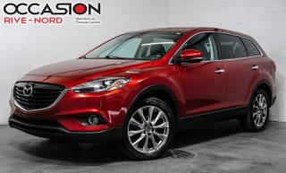 Used 2015 Mazda CX-9 GT AWD 7.PASS+NAVI+CUIR+TOIT.OUVRANT for sale in Boisbriand, QC