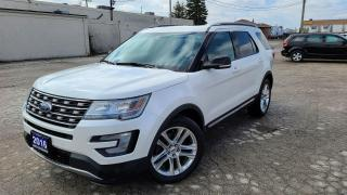 Used 2016 Ford Explorer XLT|Navi|Backup Cam|Leather|Dual Sunroof|Keyless for sale in Bolton, ON