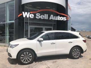 Used 2016 Acura MDX $199.00 Biweekly 0 DOWN oa for sale in Winnipeg, MB