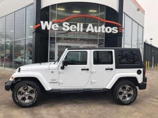 Used 2017 Jeep Wrangler Unlimited Sahara 4dr 4WD Sport Utility for sale in Winnipeg, MB