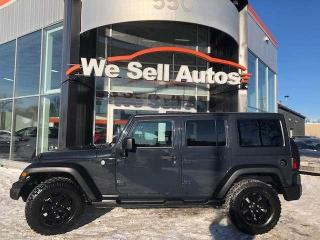 Used 2017 Jeep Wrangler Unlimited $234.00 Biweekly 0Down oac for sale in Winnipeg, MB