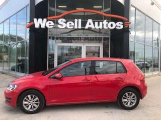 Used 2017 Volkswagen Golf Trendline Heated Seats, Back up Cam, Bluetooth for sale in Winnipeg, MB