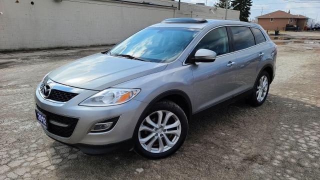 2012 Mazda CX-9 GT|Backup Cam|Navi|Leather|Alloys|Keyless Entry