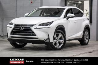 Used 2017 Lexus NX 200t EXECUTIVE AWD; **RESERVE / ON-HOLD** NAVIGATION - AFFICHAGE TETE HAUTE - CHARGE SANS FIL - MAGS 18'' for sale in Lachine, QC