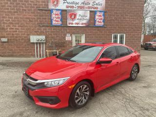 Used 2017 Honda Civic EX/2L/LOW KMS/ONE OWNER/SUNROOF/CERTIFIED for sale in Cambridge, ON