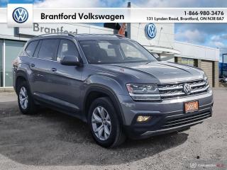 Used 2019 Volkswagen Atlas Comfortline 3.6L 8sp at w/Tip 4MOTION for sale in Brantford, ON
