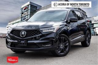 Used 2019 Acura RDX A-Spec at No Accident| Apple Carplay| Remote Start for sale in Thornhill, ON